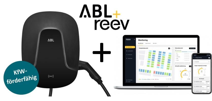 Wallbox-Bundle ABL eMH2 (Master) + reev Backend Pro