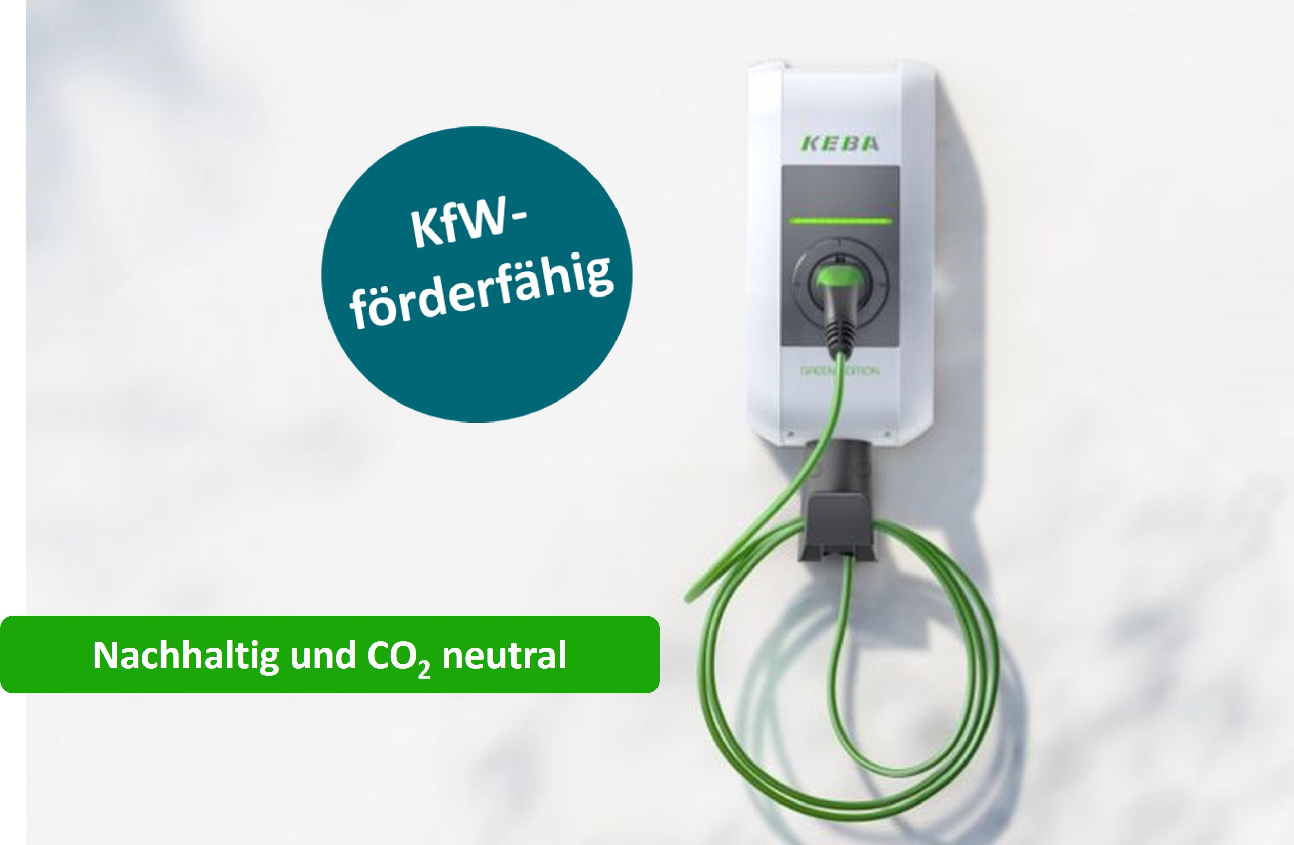 Wallbox KEBA  KeContact P30 GREEN EDITION