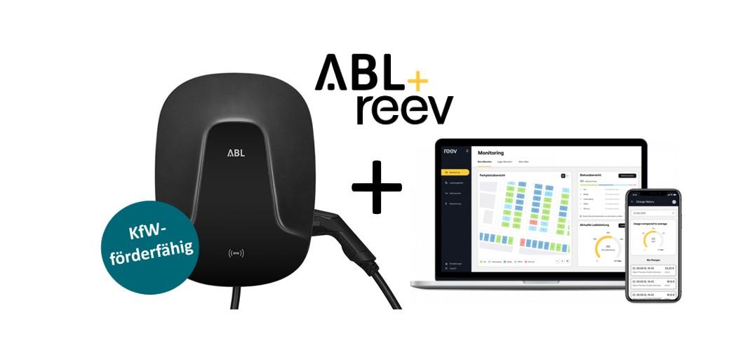 Wallbox-Bundle ABL eMH2 (Master) + reev Backend